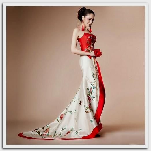 Pin By Rosie Biersack On Wedding Themes Photos We Love Quinceanas Japanese Wedding Dress Painted Wedding Dress Chinese Wedding Dress