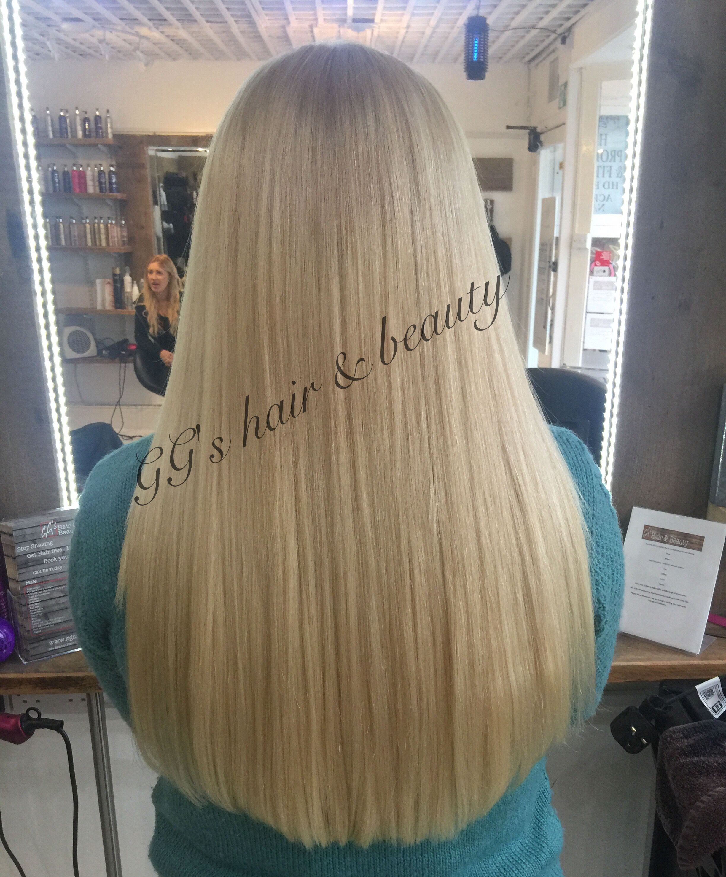 Another Gorgeous Flat Track Weave Fitted Today At Ggs Salon Adding