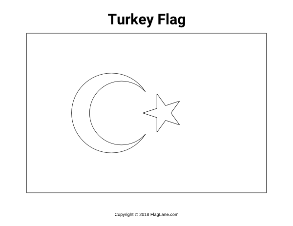 Free Printable Turkey Flag Coloring Page Download It At Https Flaglane Com Coloring Page Turkish Flag Turkey Flag Flag Coloring Pages Turkish Flag