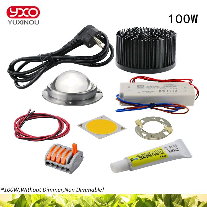 100w 200w 300w Cree Cxb3590 Cob Led Grow Light Diy Module Full Spectrum Led Grow Lamp Indoor Plant Ideal Ho Led Grow Lights Diy Grow Lights Diy Led Grow Lights