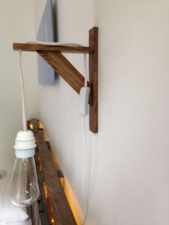 lampe murale suspendue en bois chambre 2019 cheap. Black Bedroom Furniture Sets. Home Design Ideas