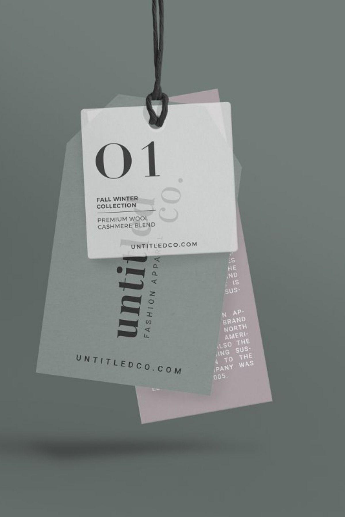 Mode Fashion Hang Tag Mock Up In 2021 Hang Tag Design Branding Mockups Creative Branding