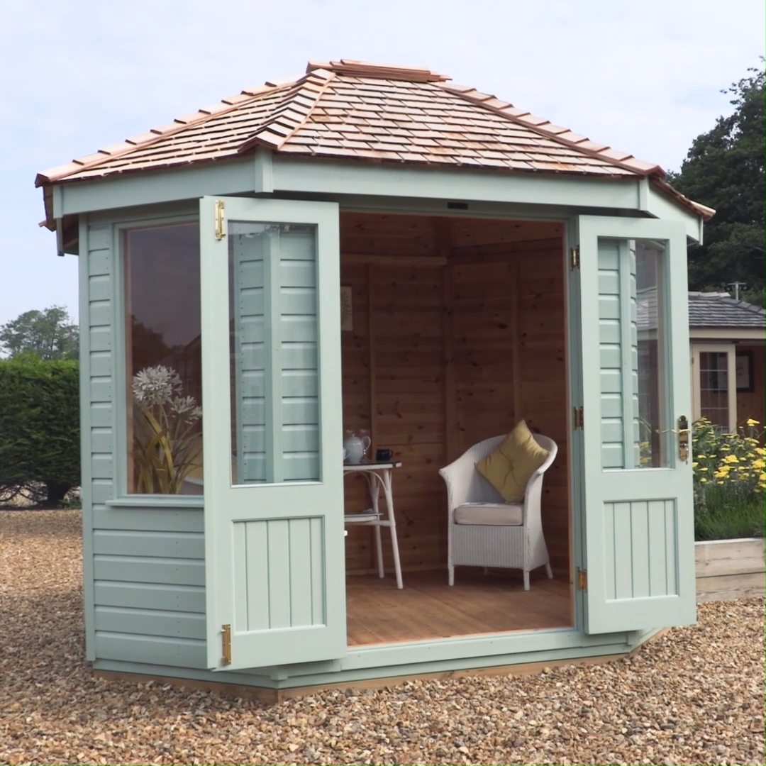 We're pleased to announce another new addition to our garden building range - the Classic Summerhouse! A simple, octagonal shaped Summerhouse that comes unlined, making it ideal for use in the summer months.