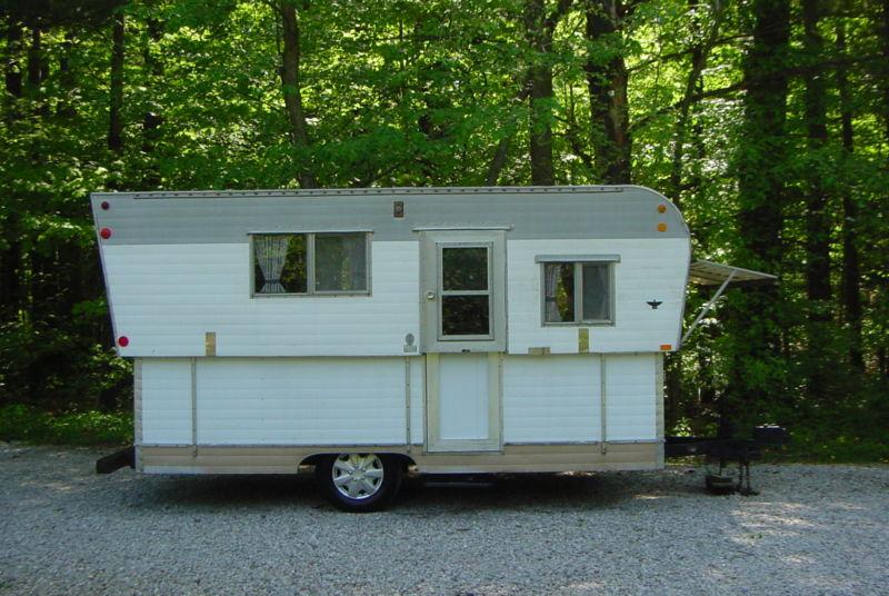 1969 Hi Lo Pop Up Camper Popup Vintage Travel Trailer