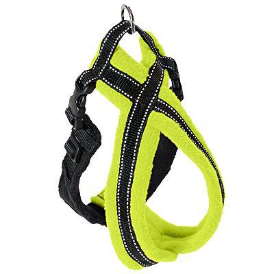 Dog Games Original Fleece Lined Dog Harness High Visibility