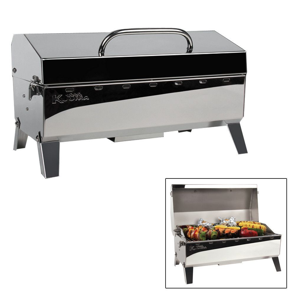 Kuuma Profile 150 Electric 110V Barbecue Grill 58120 Stainless Steel Boat RV