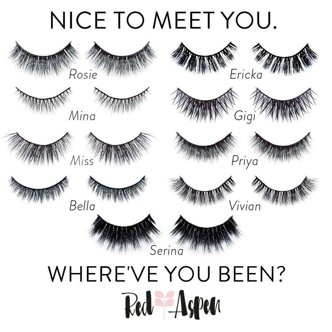 34abf8c1cf7 Red Aspen Lash Inventory- Check out Serina Lash WOW!! | LASH ADDICT ...