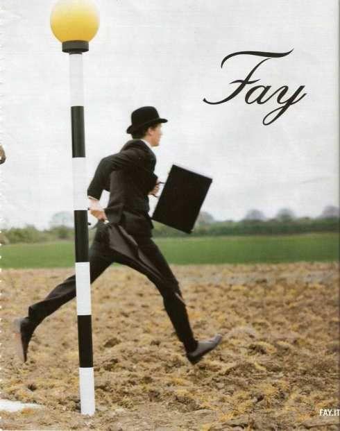 Fay FW 2010 by Tim Walker