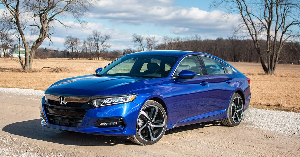 A Turbo Engine Manual Gearbox And Buttoned Up Chassis Make The Honda Accord A Truly Entertaining Affair Honda Accord Honda Accord Sport Sedan