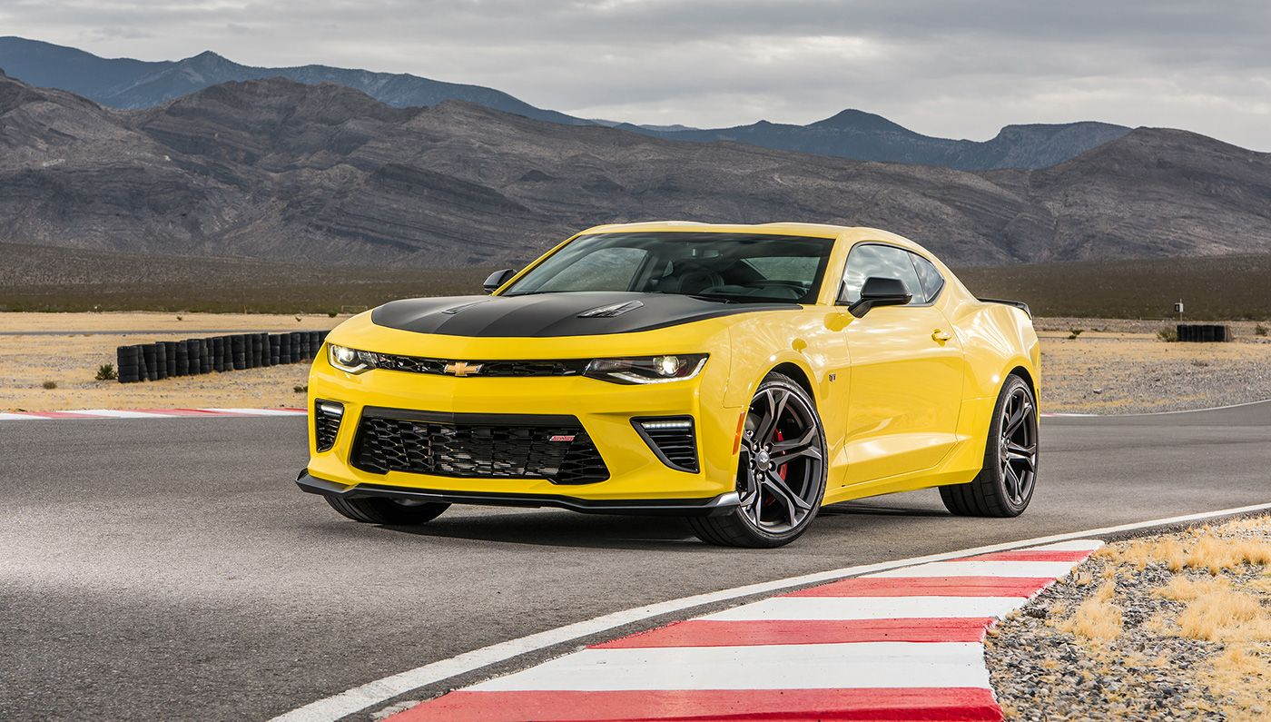The Chevrolet Camaro 1LE performance package makes the legendary ...