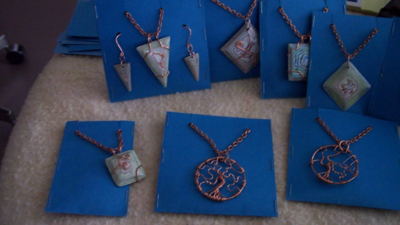 How To Make Simple Jewelry Display Cards Diy Style