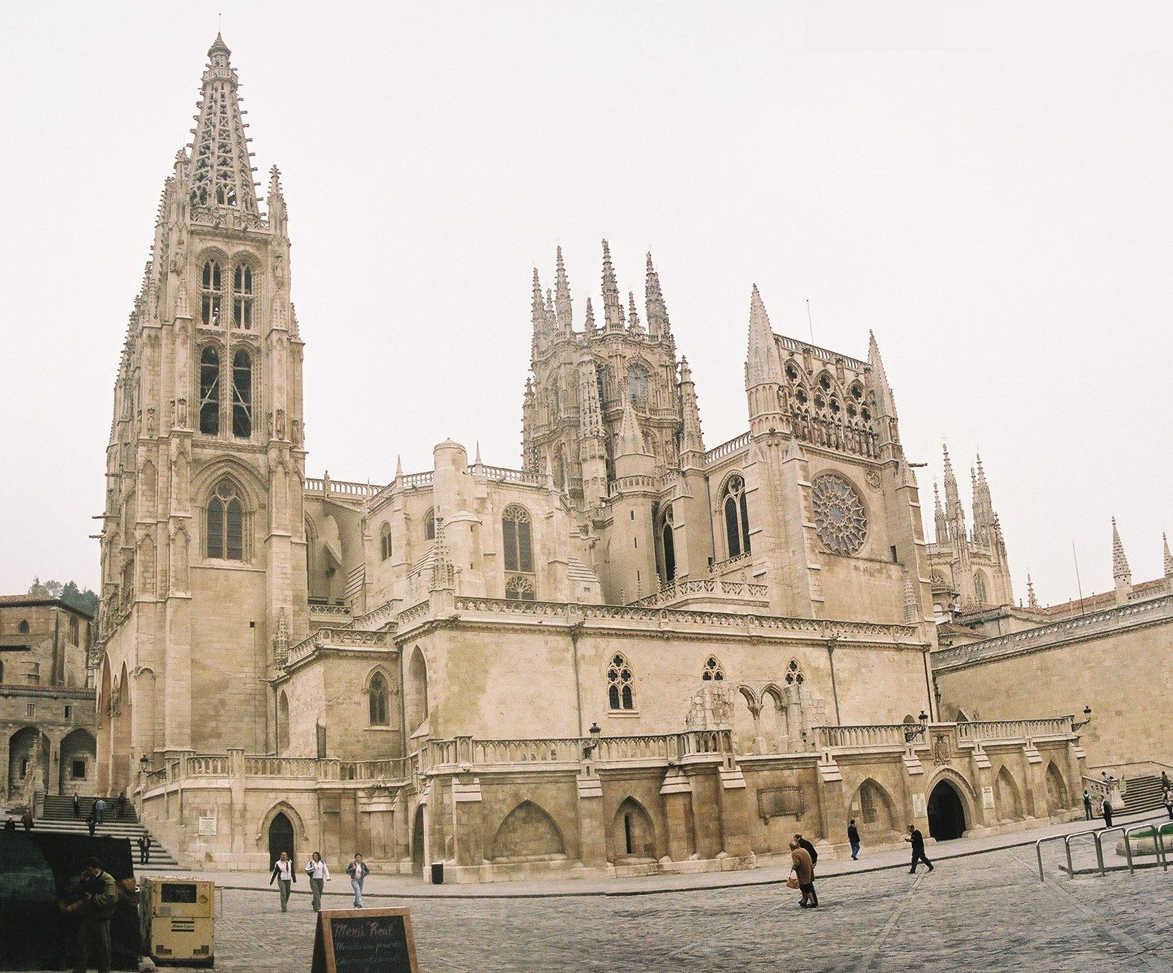 Cathedral in Burgos Spain (tomb of El Cid is within)