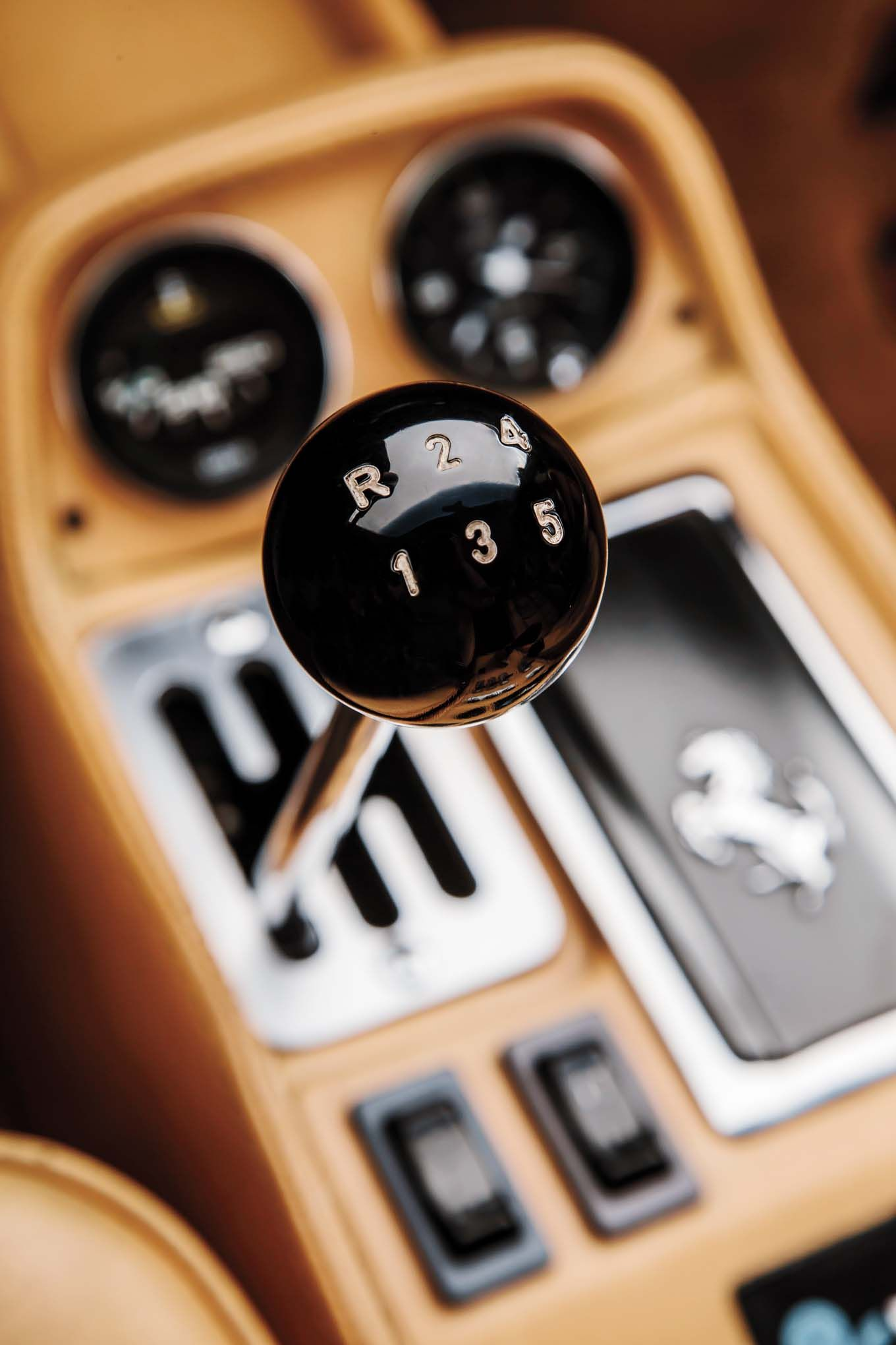 Ferrari gear shift