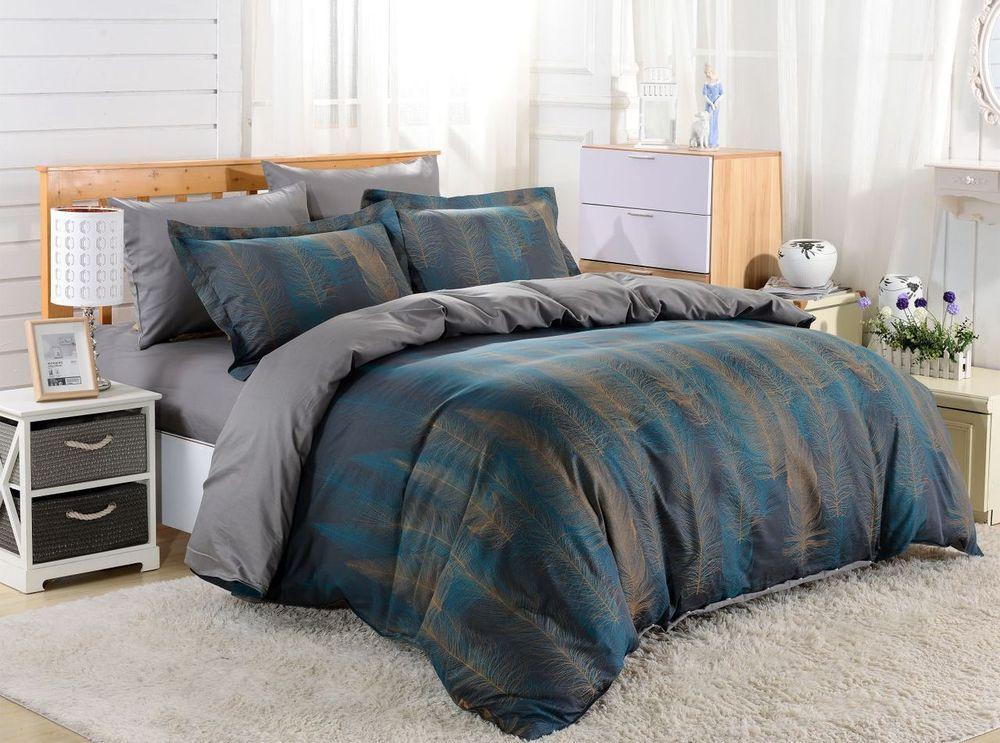 Dolce Mela 6pc Duvet Cover FULL QUEEN Bedding Sheet Set Voluptuous Pattern  #DolceMela