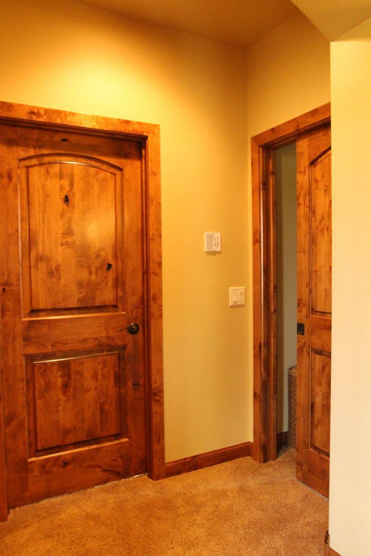 Pocket Door Knotty Alder Pocket Doors Conserve Space Where It S