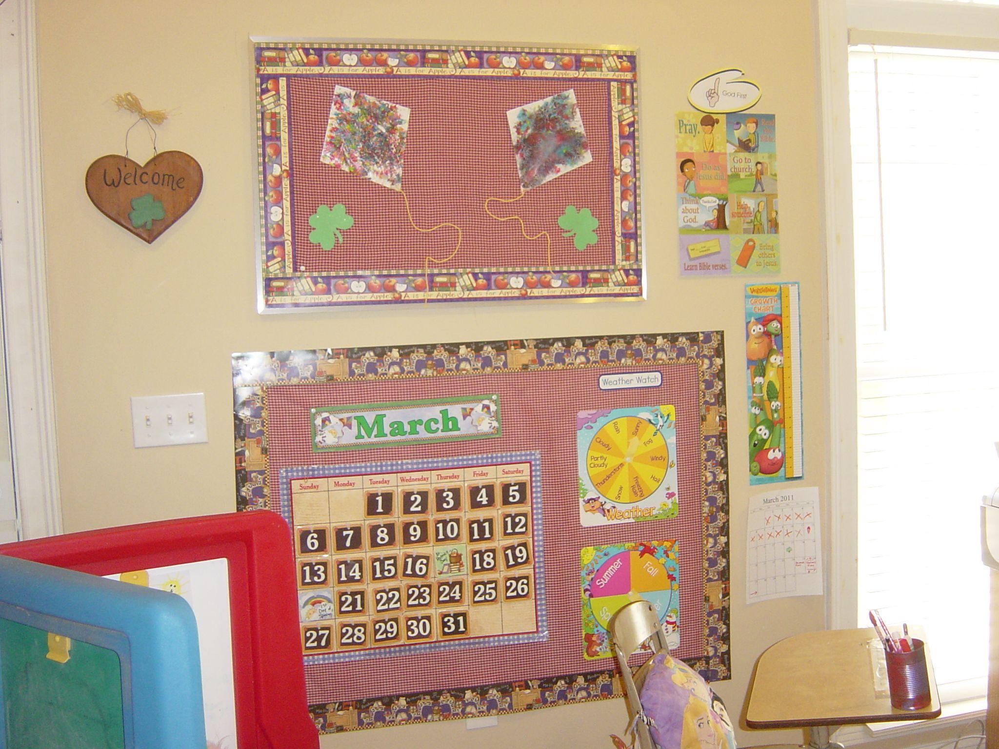 Homeschool Bulletin Board Bulletin Board Wall Homeschool