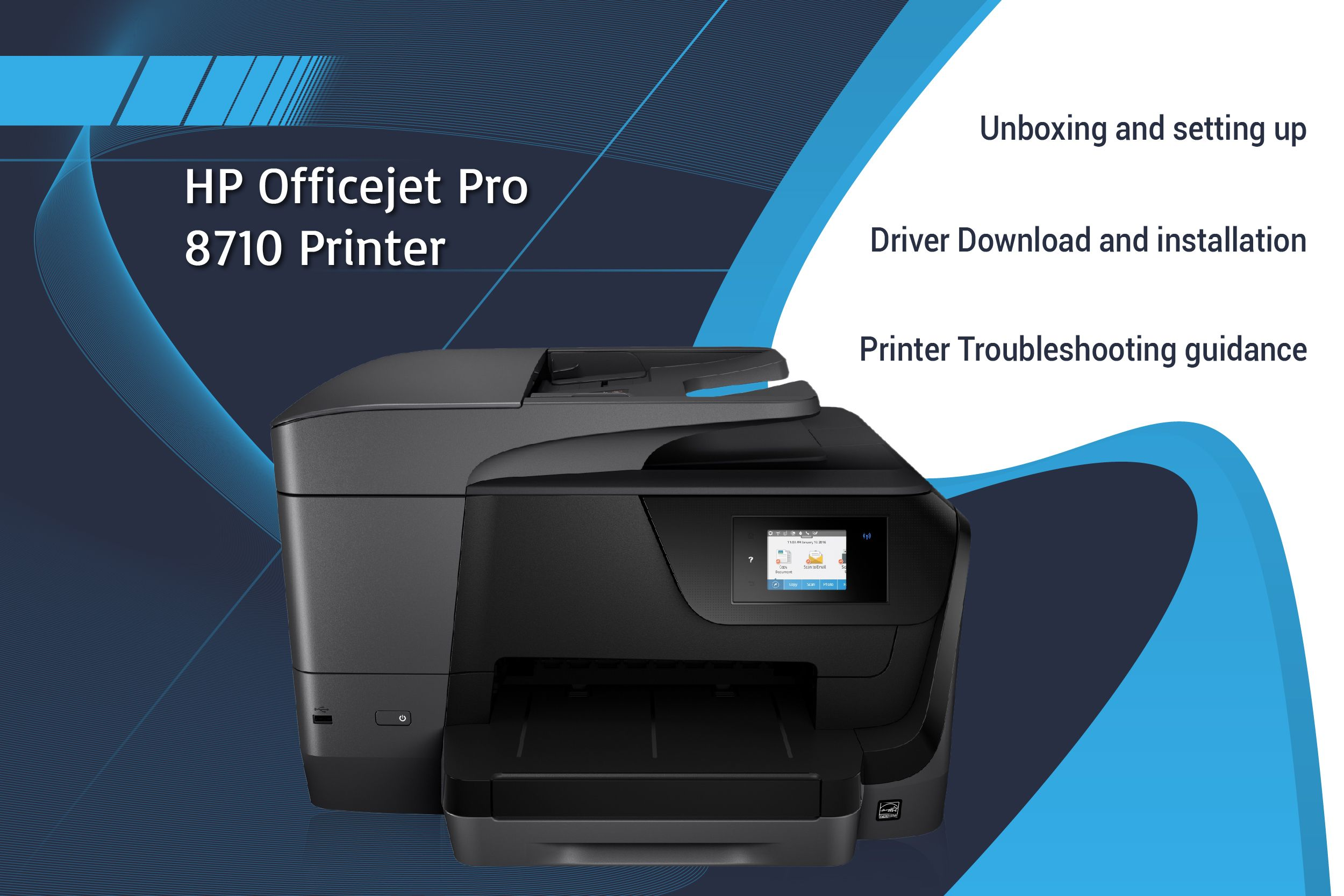 123 Hp Com Ojpro8710 Printer Installation With Images Hp