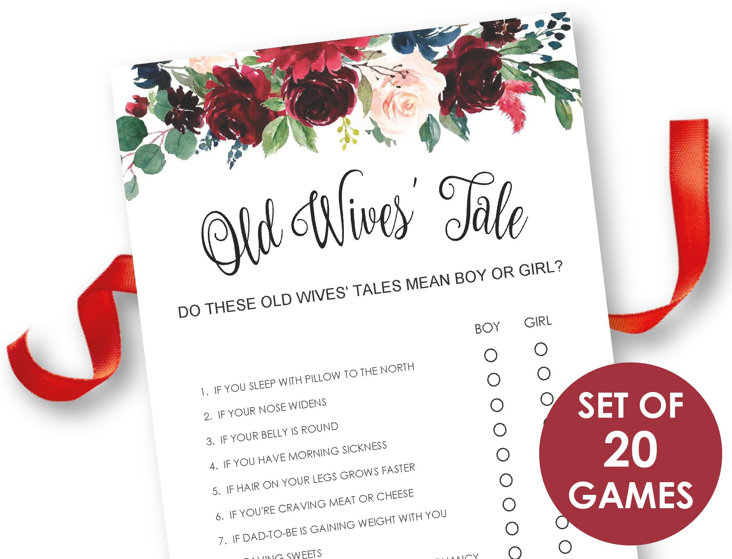 Sunflower Baby Shower Games Package Seven Printable