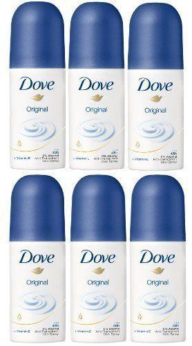 6x Mini Dove Original Deodorant Spray 35ml TRAVEL SIZE | PURSE 5 ...