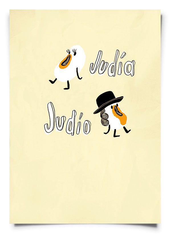 judía/judío on Behance
