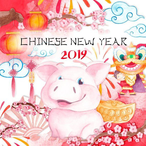 Chinese New Year Clipart New Year 2020 Year Of The Rat Clipart Rat