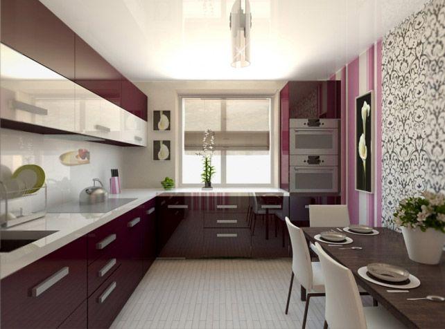 кухня дизайн 8 кв.м фото