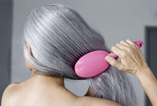 7 Ways To Make Gray Hair Look Gorgeous Grey Hair Looks Dry Gray Hair Grey Hair Care