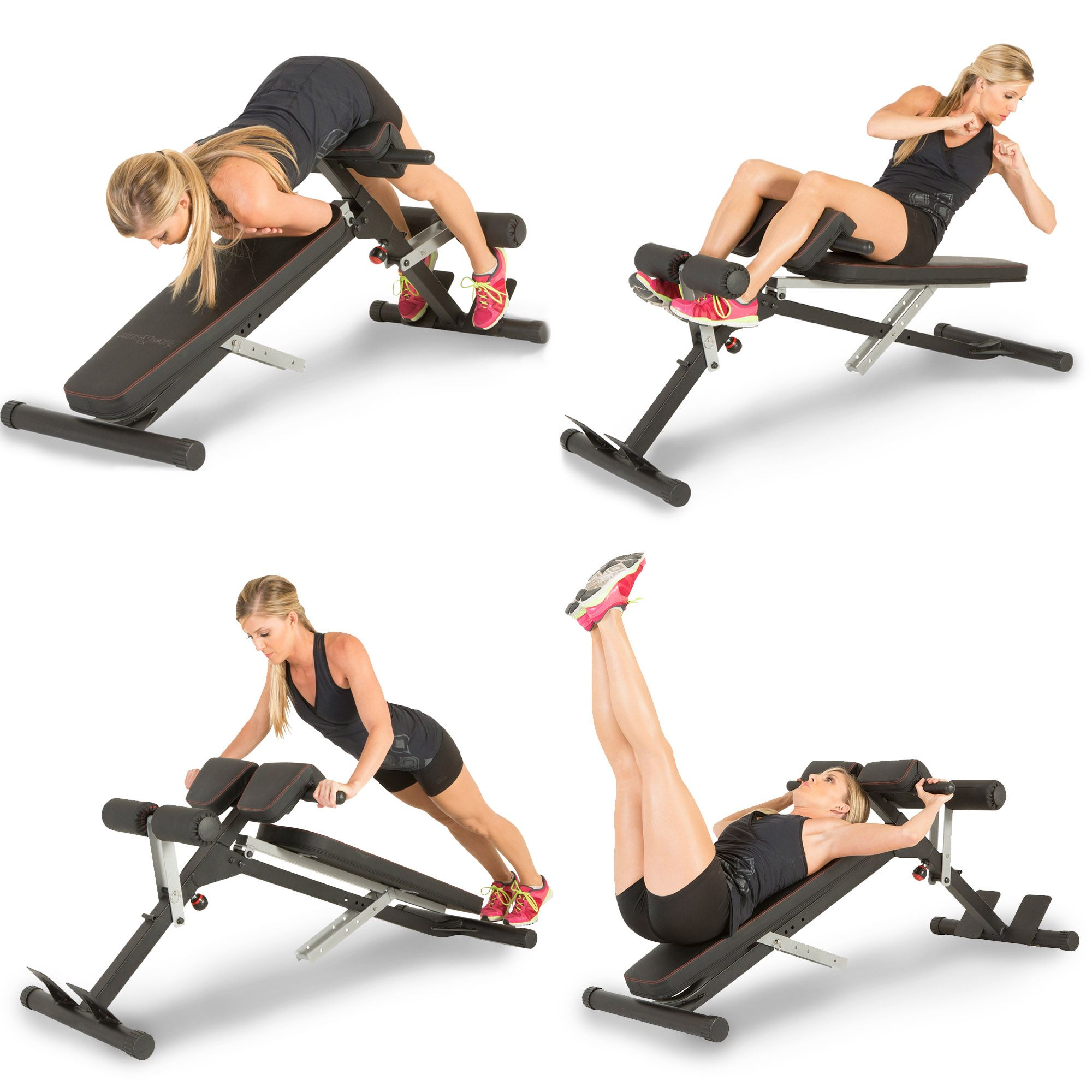Adjustable Weight Bench Abdominal Bench Sit-up Fitness Home Gym Exercise Dumbbel