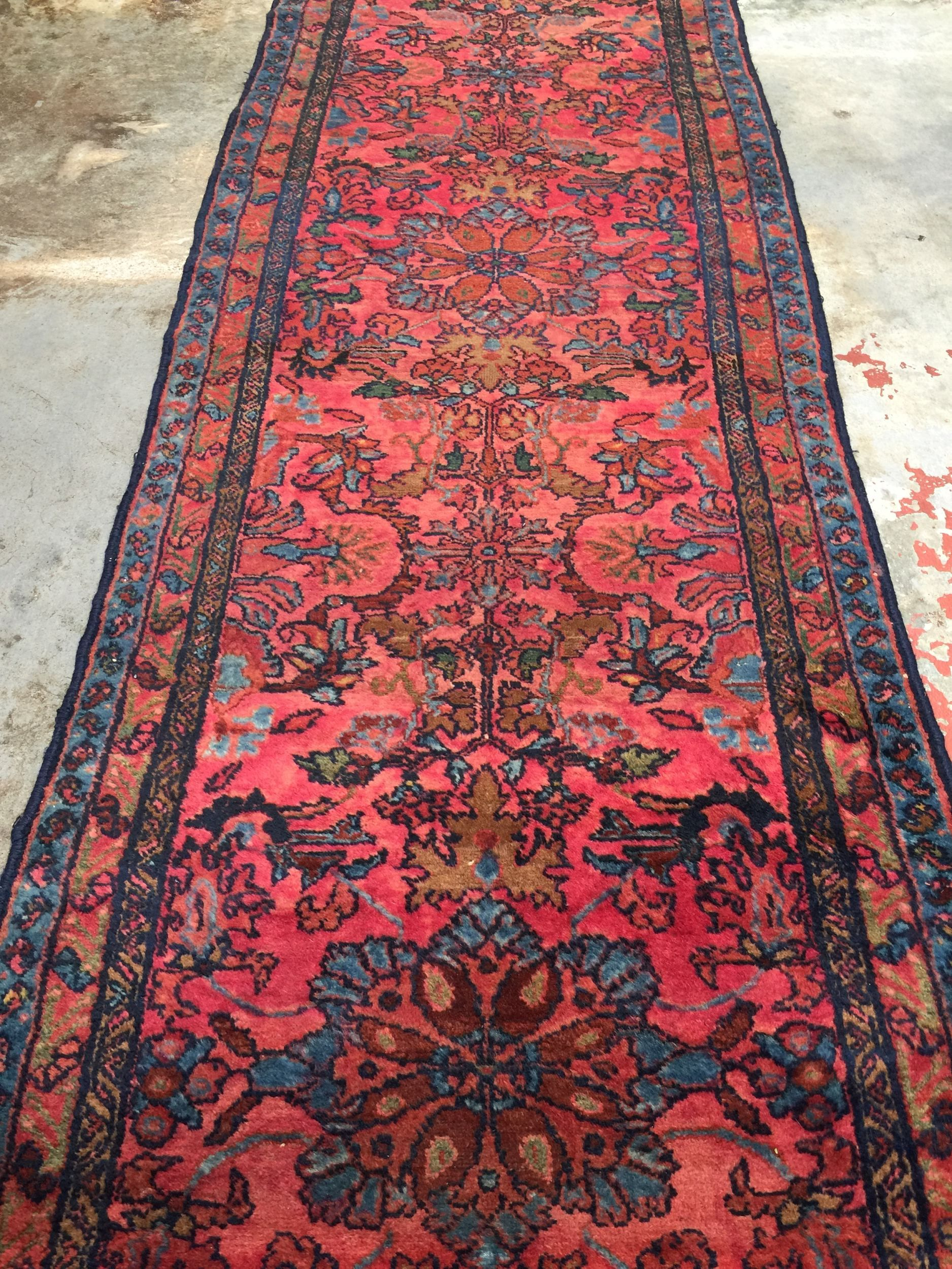 Best Antique Persian Lilihan Runner Rug 2 9X16 Persian Rugs 640 x 480