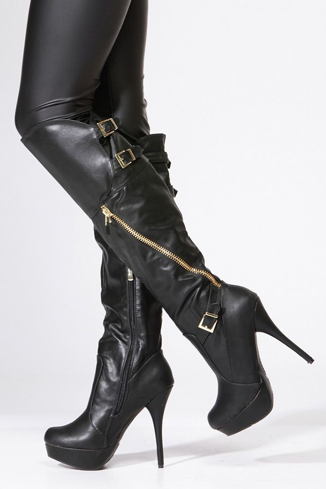 Pin by Brian K Virgin on Get in my CLOSET :) | Boots, Black
