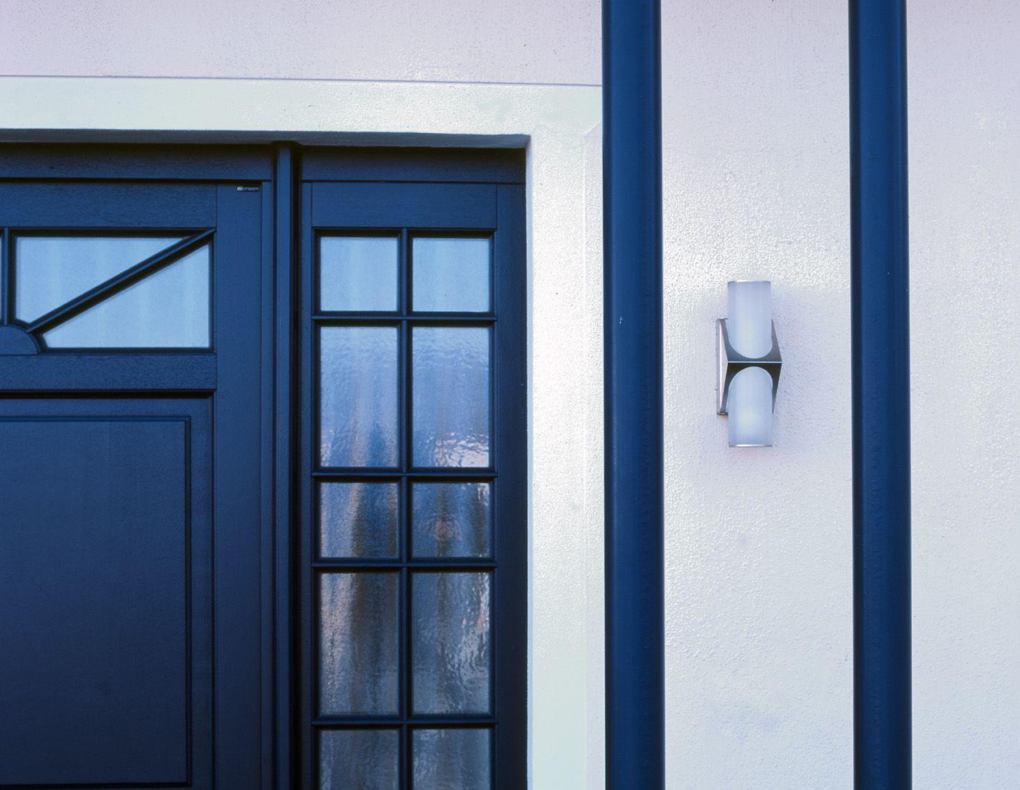 Albert 690636, 690635 mit LED Wandleuchte aus Edelstahl, wall lamp ...