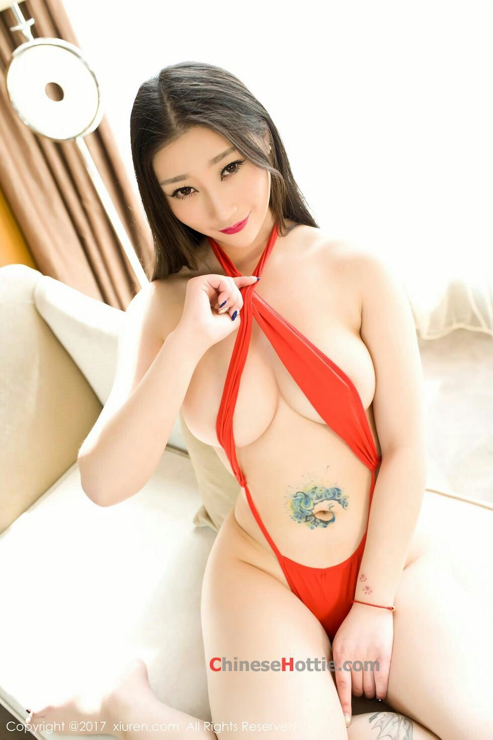 Asian fetish model