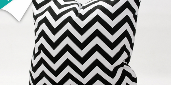 Black And White Pattern Pillow Cases