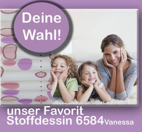 Plissee Stoffvielfalt für cosiflor® Faltstores auf Maß
