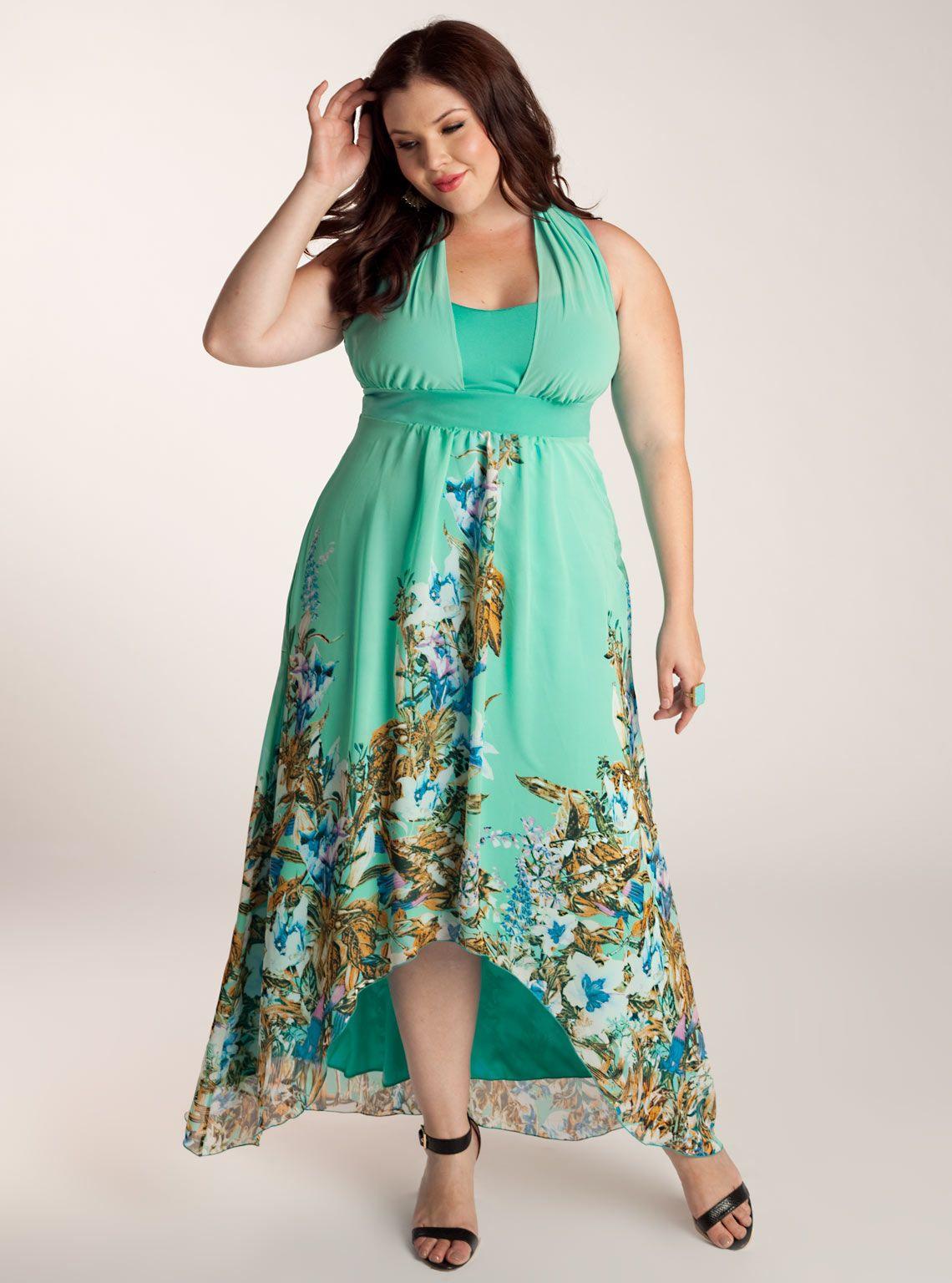 Plus Size Petite Maxi Dresses