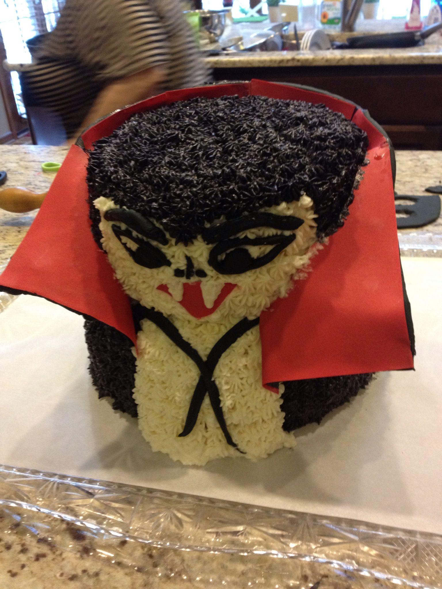 Hotel Transylvania Dracula Cake