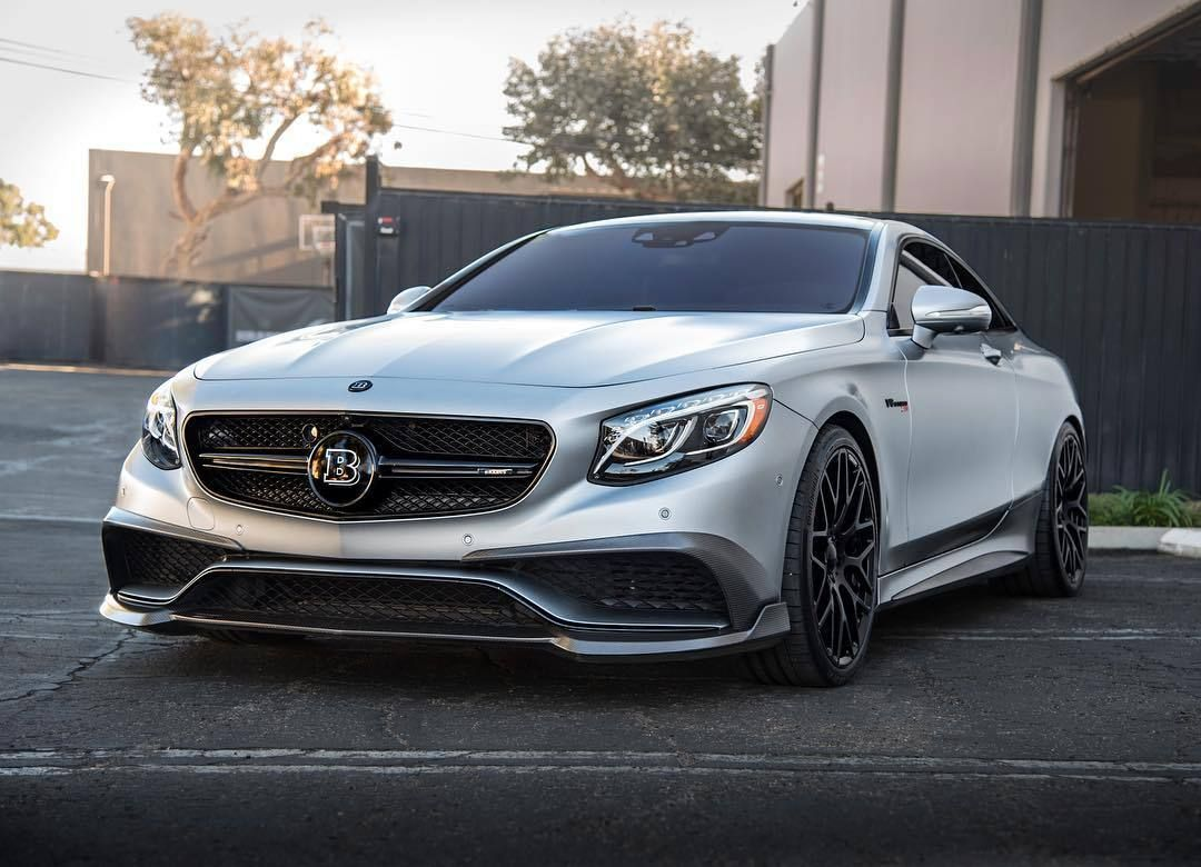 MercedesBenz Sclass Coupe modified by BRABUS (With