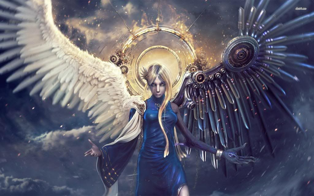 Devil half Angel by eRzAKnIgHt ...