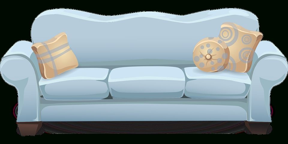 Couch sofa blue free vector graphic on pixabay in couch