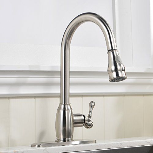 VCCUCINE Best Antique Stainless Steel Brushed Nickel Single Handle ...