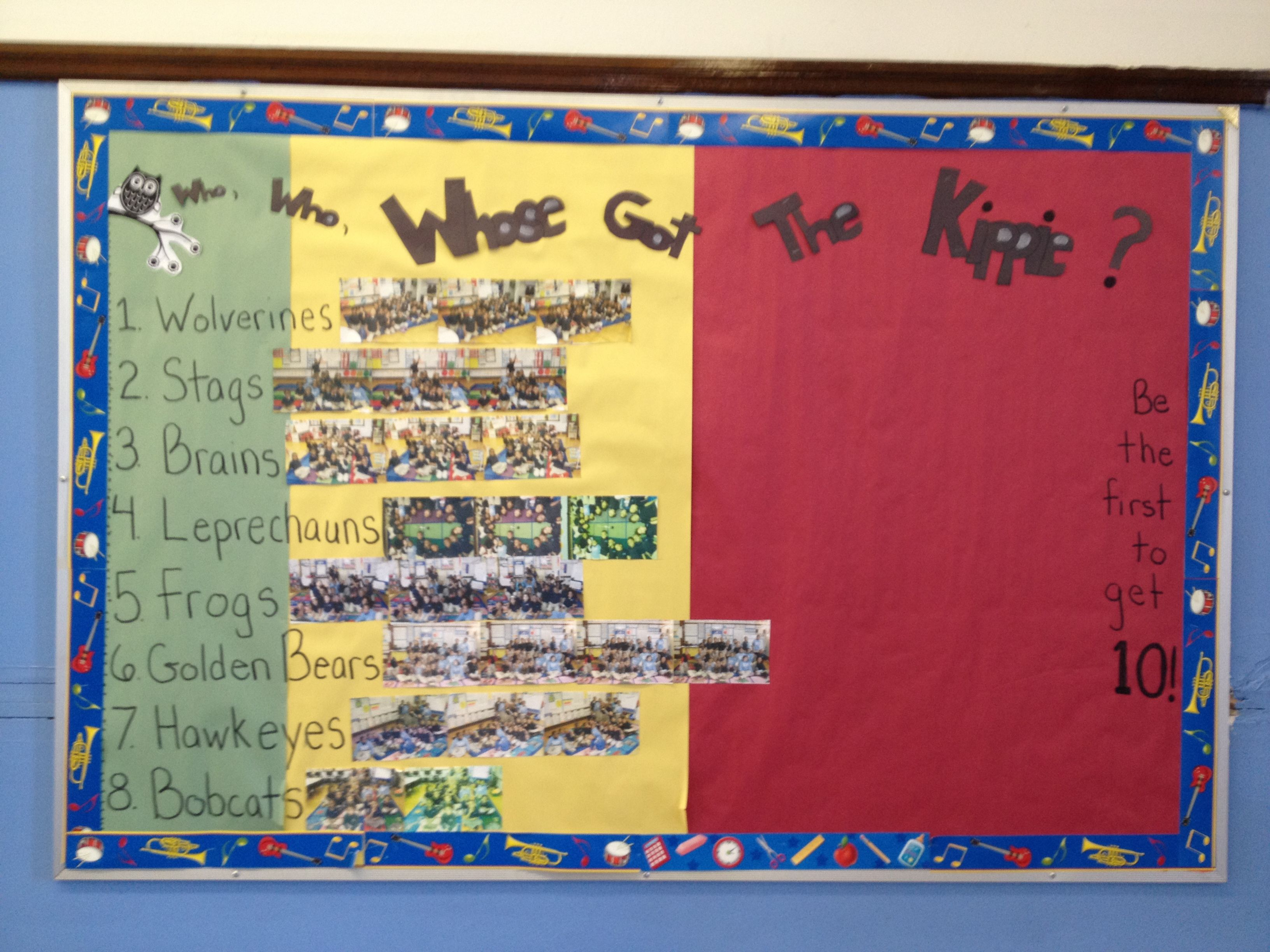 Excellence Bulletin Board