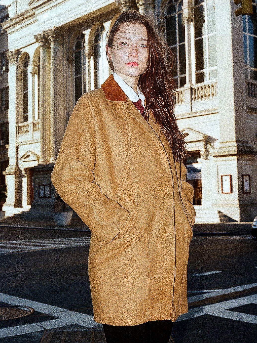 Petite Unisex Long Wool Coat | American Apparel | wishlist ...