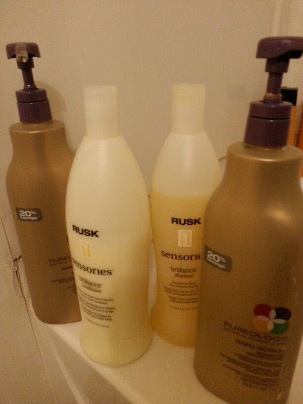 Pureology And Rusk Best Of The Best Shampoos For Color Treated