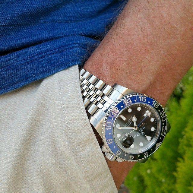 Let's See Your GMT-Master on a Jubilee Bracelet - Page 5 ...