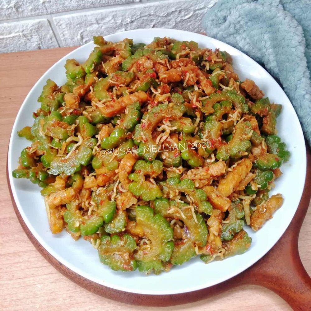 Resep Tumis Pare Instagram Di 2020 Tumis Resep Resep Masakan