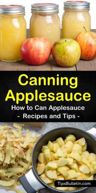 How to Can Applesauce with Amazing Results