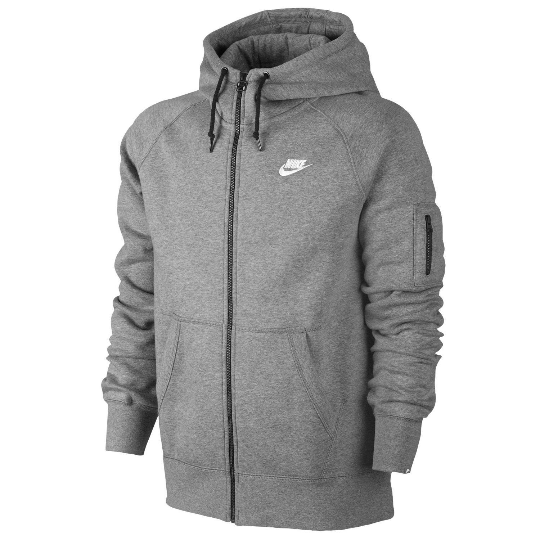 Nike herren jacke aw77 fleece jersey hoody
