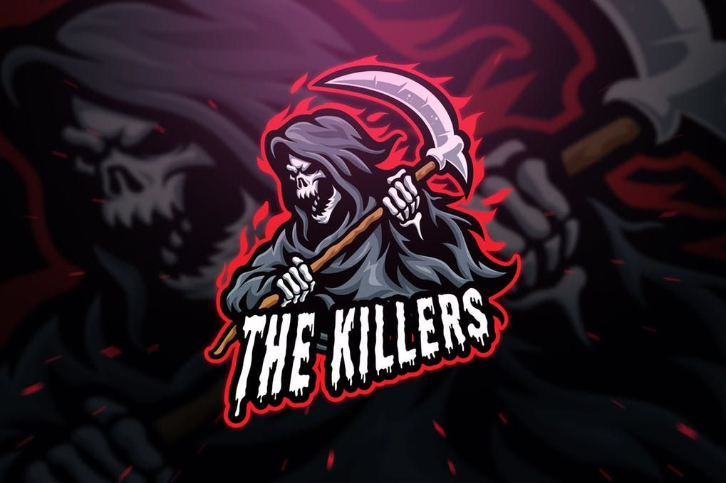 Cover Image For The Killers Sport And Esport Logo Template