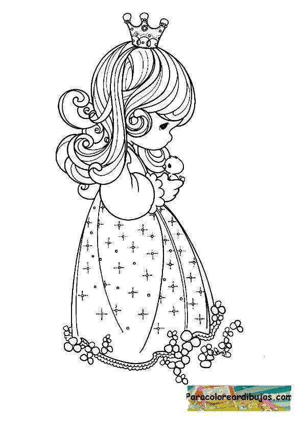 Precious Moments Princess Coloring Page Precious Moments Coloring Pages Princess Coloring Pages Princess Coloring