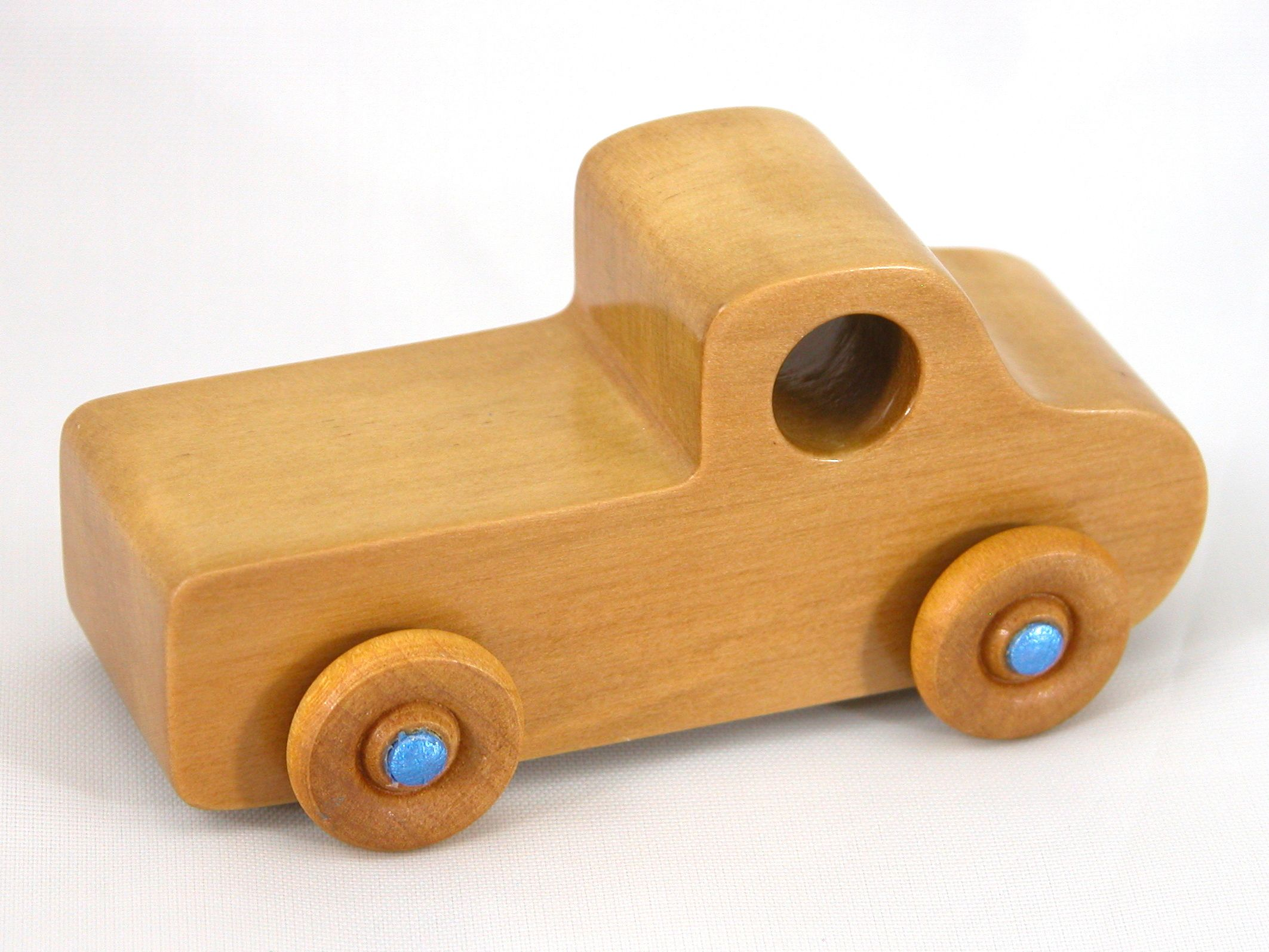 wooden toy pickup truck from the play pal series | wood toys